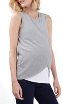 Topshop Wrap Maternity/Nursing Tank