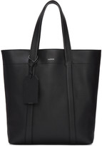 Lanvin Black Leather Tote