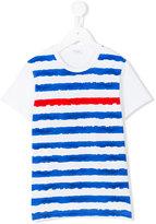 Il Gufo striped T-shirt - kids - Cotton/Spandex/Elastane - 10 yrs
