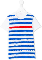 Il Gufo striped T-shirt - kids - Cotton/Spandex/Elastane - 8 yrs