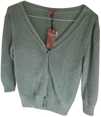 Ermanno Scervino Green Wool Top for Women