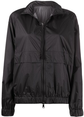 Moncler Logo-Patch Zipped Jacket