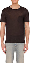 Maison Margiela Men's Gossamer Jersey T-Shirt-BLACK