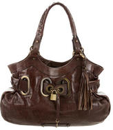 Barbara Bui Leather Bucket Tote