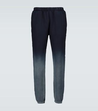 LES TIEN Dip-dyed cotton trackpants