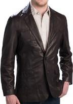 Scully Lambskin Leather Blazer (For Men)