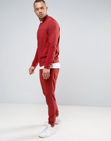 Nike Tracksuit Set In Red 804308-674