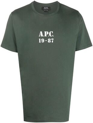 A.P.C. 1987 short sleeved T-shirt