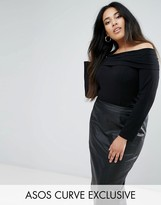Asos Off Shoulder Top with 3/4 sleeve