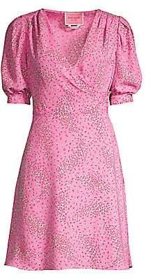 Kate Spade Women's Meadow Printed Wrap Dress