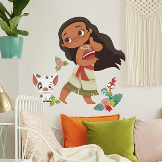 Room Mates RoomMates Vintage Moana Peel and Stick Giant Wall Decals