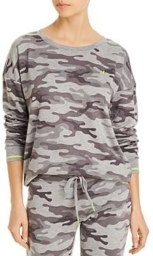PJ Salvage Camouflage Printed Top