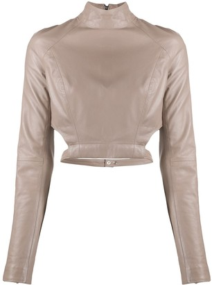 Manokhi Jules leather blouse