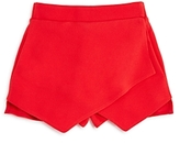 Aqua Girls' Wrap-Style Skort, Big Kid - 100% Exclusive