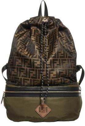 Fendi Fold-Away Backpack