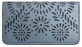 Merona Women's Wallet Sterling Blue Floral