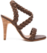 Ulla Johnson Leather Sima Braided Heels