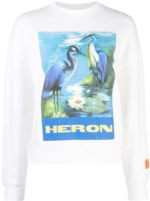 Heron Preston graphic print Heron sweatshirt