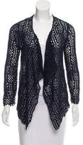 Risto Open Front Crochet Cardigan w/ Tags