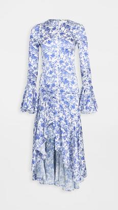 Caroline Constas Monique Midi Dress