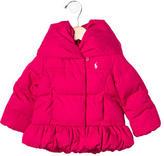 Ralph Lauren Girls' Hooded Puffer Jacket