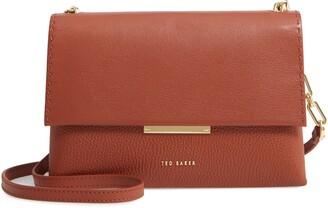 Ted Baker Diilila Leather Crossbody Bag