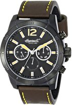 Ingersoll Men's INQ014BKBK Lincoln Analog Display Japanese Quartz Brown Watch