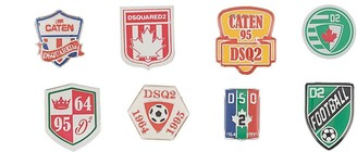 DSQUARED2 Logo Pin Set