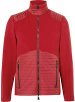 Moncler Shell-Panelled Fleece Mid-Layer Jacket