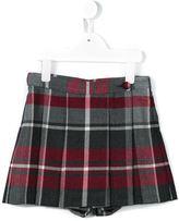 Dolce & Gabbana tartan skort - kids - Polyester/Virgin Wool - 4 yrs