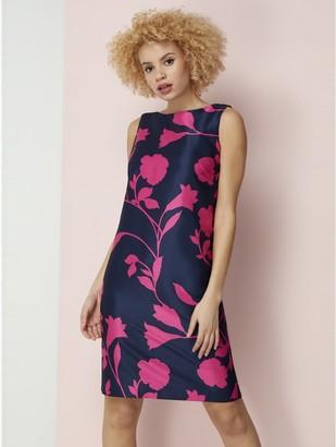 M&Co Roman Originals floral print sleeveless shift dress