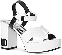 Moschino Women's Strappy Platform High-Heel Sandals