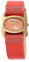 Salvatore Ferragamo Women's FIE020015 Varina Orange Watch With interchangeable Band