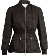 Moncler Gamme Rouge Sonora cotton and silk-blend quilted down jacket