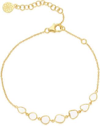 Amrapali Legend Polki Diamond Slice Chain Bracelet in 18k Gold