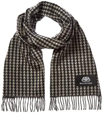 Balenciaga Cashmere & Wool-Blend Scarf