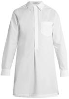 ADAM by Adam Lippes Point-collar cotton-poplin shirt