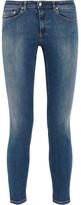 Acne Studios Skin 5 Mid-rise Skinny Jeans - Dark denim