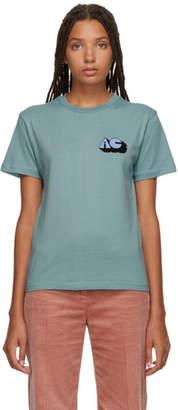 ALEXACHUNG SSENSE Exclusive Blue Alexa T-Shirt