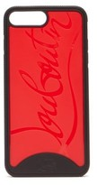 Thumbnail for your product : Christian Louboutin Loubiphone Sneakers Iphone 7+ & 8+ Phone Case - Black Red