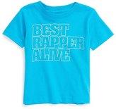 Kid Dangerous Best Rapper Alive Graphic T-Shirt (Baby Boys)