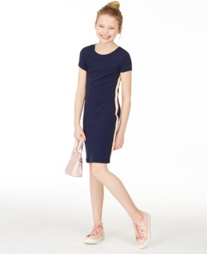 Epic Threads Big Girls Side-Tape Bodycon Dress, Created for Macy's