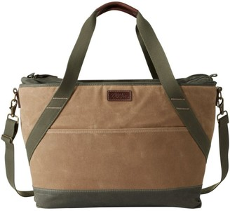 L.L. Bean L.L.Bean Insulated Waxed-Canvas Tote, Large