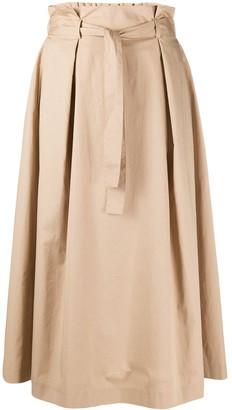 Peserico Paperbag Waist Skirt