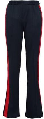 BA&SH Grosgrain-trimmed Ponte Bootcut Pants