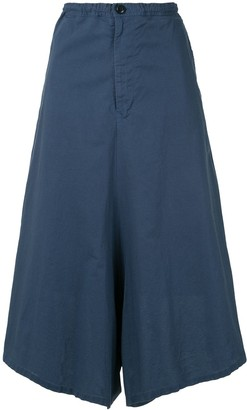 Y's Wide-Leg Culotte Trousers