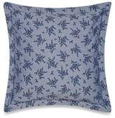 Bellora Luxury Italian-Made Kind Of Blue Slim European Pillow Sham in Denim