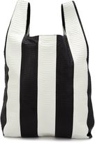 Hayward striped shopper tote