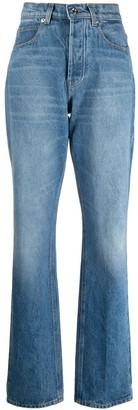 Paco Rabanne High-Waist Missing Pocket Jeans