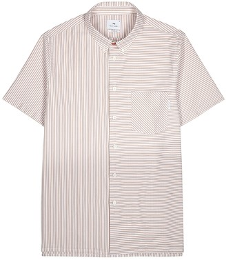 Paul Smith White and brown cotton shirt
